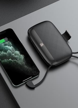 Power bank Hoco S29 Nimble mobile power for Micro (10000mAh) blac