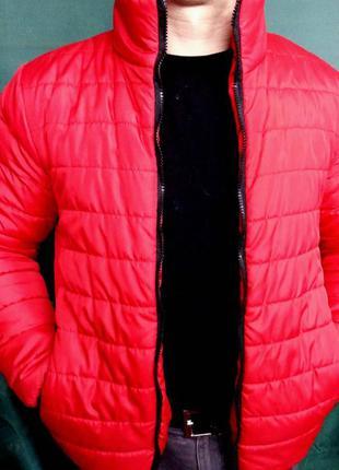 Мужская демисезонная куртка большого размера