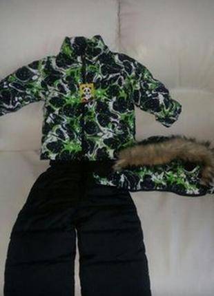 Комбинезон зимний костюм теплый 86,92,98