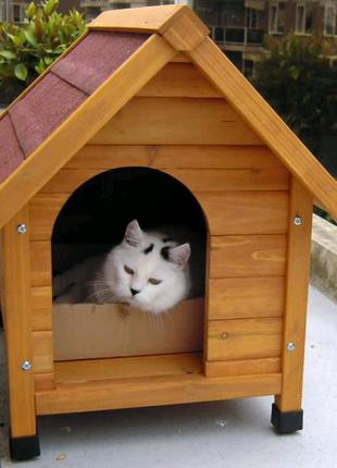 Домики для котов.