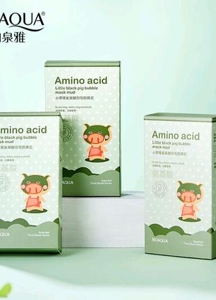Кислородно пузырьковая маска для лица Amino Acid Bubble Mask