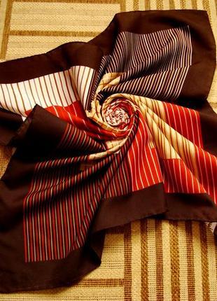 Gim Renoir, оригинал, винтажный платок, 100% шелк.
