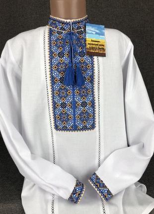 Эксклюзивная вышиванка на домотканом полотне. вишиванка. сорочка