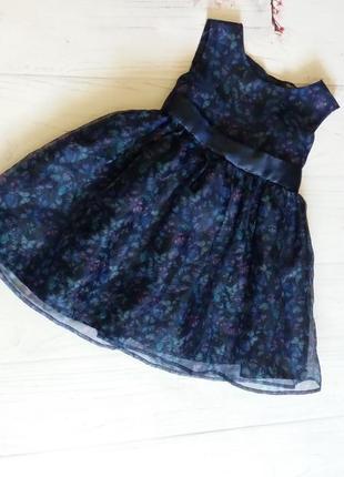 Платье  нарядное фатин шифон от george
