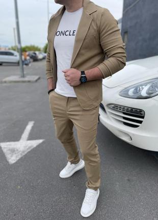Мужской костюм,топовое качество
