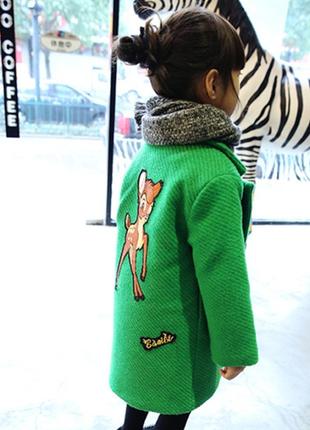 Пальто оверсаиз модное крутое