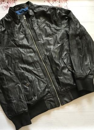 Куртка кожанка большой размер