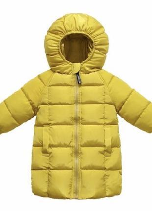 Пальто тёплое пуховик  куртка