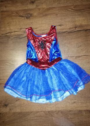 Карнавальный костюм, человек паук