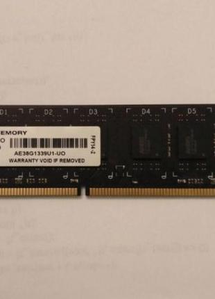 Память AMD DDR3 1333 8Gb