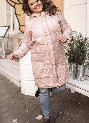Женская куртка пуховик xl+