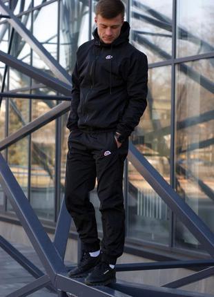 Спортивный костюм nike heritage (черный)