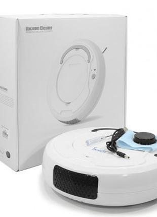 Робот пылесос Bowai Smart 1200 mAh зарядка USB Белый