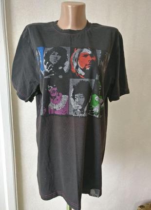 Legendary rock stars рок мерч футболка атрибутика неформат
