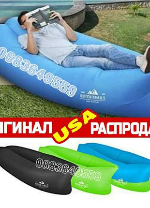 ЛУЧШИЙ Lamzac USA лежак диван надувной матрас кресло гамак Лам...