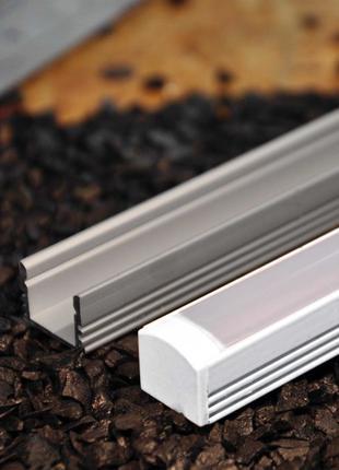 Профиль для светодиодной лед ленты ЛП12 купить цена киев