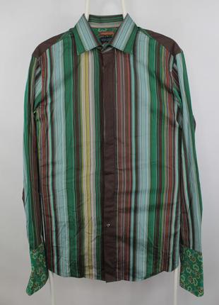 Шикарная яркая рубашка kenzo homme comfort fit shirt
