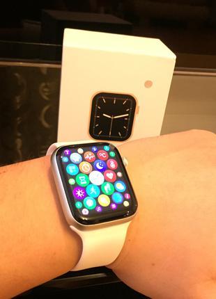 Умные часы w46 smart watch с термометром, пульсометр, тонометром