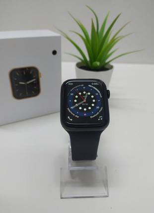 Умные часы W26+ smart watch Черные смарт часы