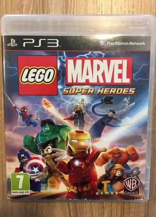 LEGO Marvel Super Heroes, Игры PS3, Sony Playstation 3
