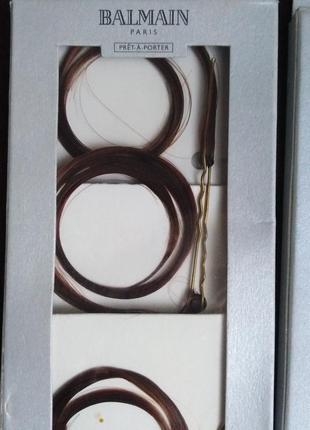 Пряди для волос balmain на шпильках