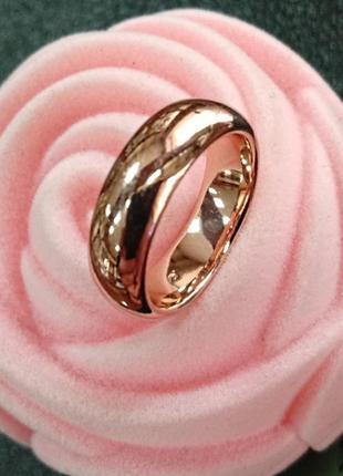 Обручальное кольцо из медицинского золота - 6 мм   - арт 97001406