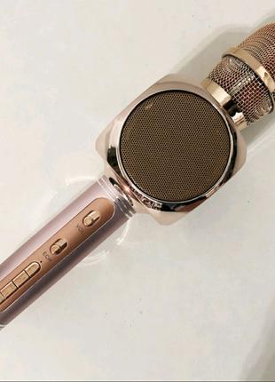 Микрофон-колонка для караоке