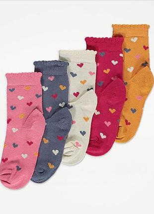 Носки, шкарпетки george на 5-7 лет