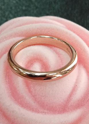 Обручальное кольцо из медицинского золота - 3 мм - арт 970155576