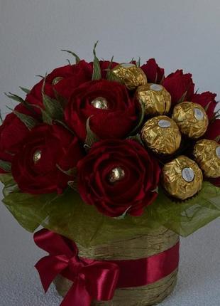 Букеты.Цветы. Оформление подарков цветами