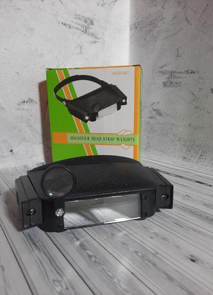 Очки бинокулярные с подсветкой MG81007 новые в упаковке