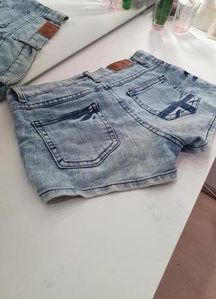 Джинсовые шорты новые глория джинс
