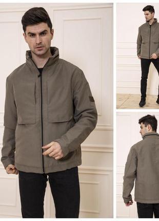 Куртка мужская демисезонная без капюшона