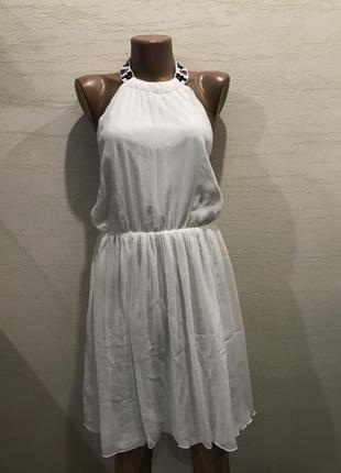 Платье в греческом стиле с бисером