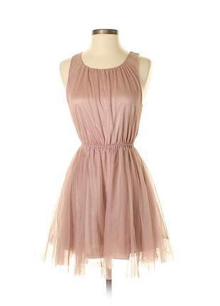 Платье из фатина h&m