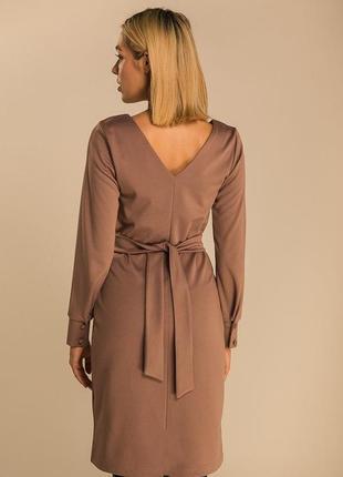 Нереально красивое платье миди с поясом