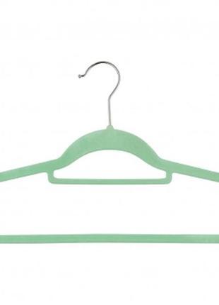 Бархатистый тремпель/плечики/вешалка для одежды  livarno living.