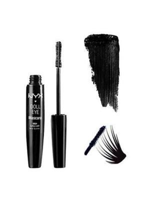 Тушь для ресниц nyx professional makeup doll eye mascara water...