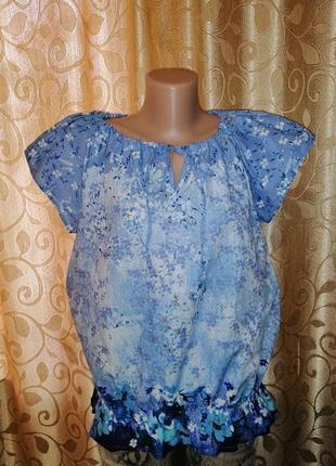 🌺🎀🌺красивая женская легкая блузка, футболка, кофта anthology🔥🔥🔥