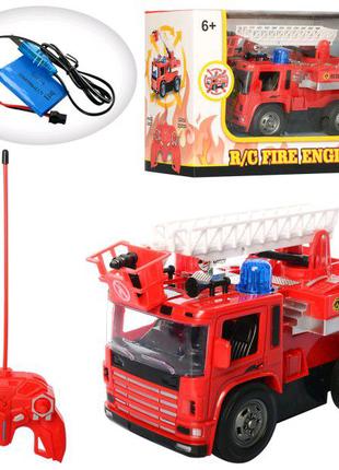пожежна машина на пульт
