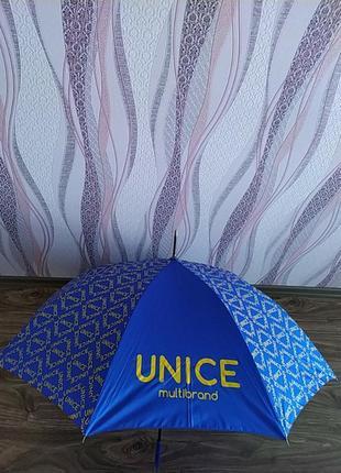 Брендовый зонт-антиветер unice