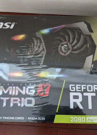 Видеокарта MSI Gaming GeForce RTX 2080 Super