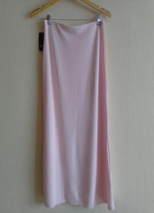 Длинная трикотажная юбка