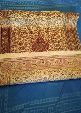 Ковер индийский шелковый ручной работы