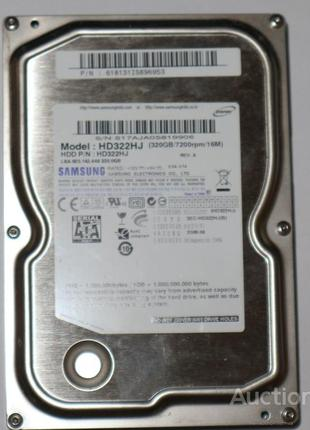 Жесткий диск 3.5'' Model Model SAMSUNG HD322HJ 320GB