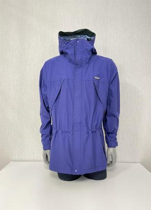 Куртка ветровка винтажная vintage patagonia hooded storm jacket