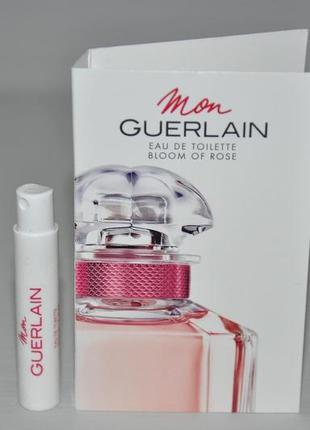 Guerlain mon guerlain bloom of rose туалетная вода (пробник)