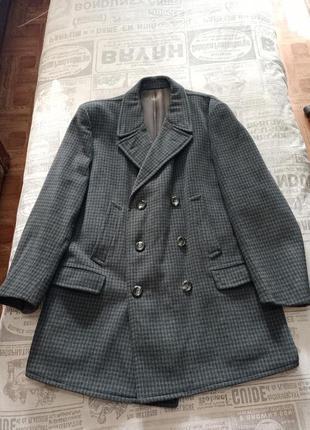 Кашемировое полу пальто
