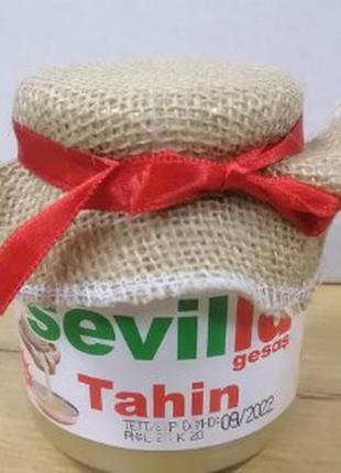 100% натуральная кунжутная паста Sevilla Gesas 300g Тахини Tahin