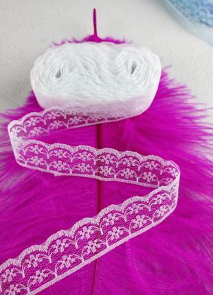10 ярдов, красивые разноцветные шелковые кружева с вышивкой 22 мм
